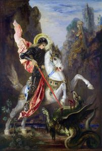 St George and the Dragon. Source: Wikimedia Commons