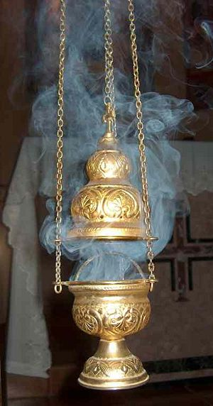 300px-Incense-smoke-and-censer-thurible